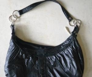 Black small handbag party purse