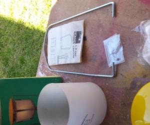 LP Gas lantern parts