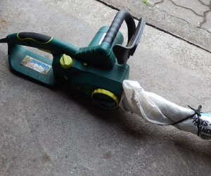 WANTED Aldi Gardenline 8781 electric chainsaw for parts