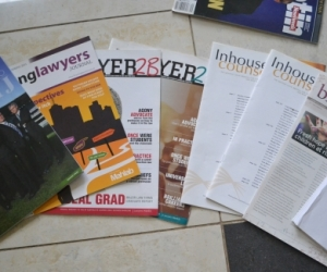 Law magazines and journals, law notes
