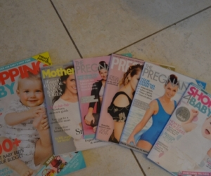 Pregnancy and baby magazines