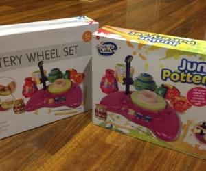 2  pottery wheel sets