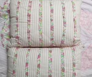 2 Girls single bed quilt sets