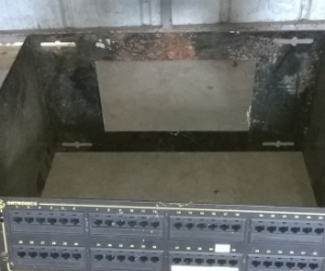"Cat 5 Patch Panel, and 19"" Rack Frame"
