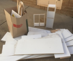 Assorted MDF offcuts