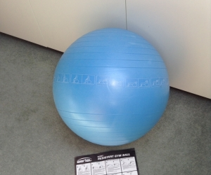 Resistant gym ball