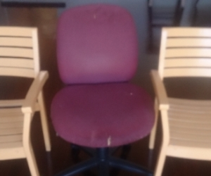 Garden chairs (wood) Office chair