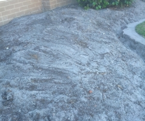 Volcanic Rocks and Top soil