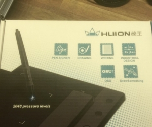 Huion H420 USB Pen Tablet