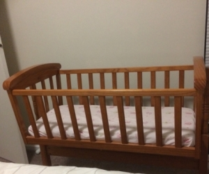 Wooden Bassinet - Perfect Condition!