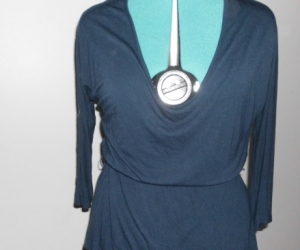 size 16 ladies blue top