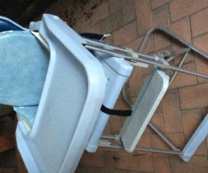Foldable high chair