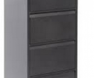 8 office metal grey  filing cabinets