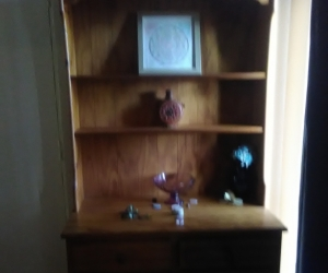Free Tall Wooden Cupboard