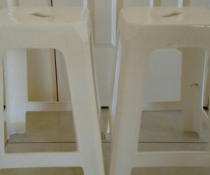 Plastic stools