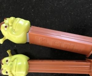 Shrek Pez Dispensers x2