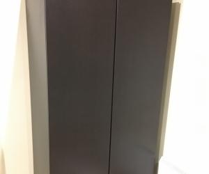 Ikea dark brown double door wardrobe - 60 x 201 x 100cm