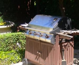 Stainless Steel 4-burner BBQ