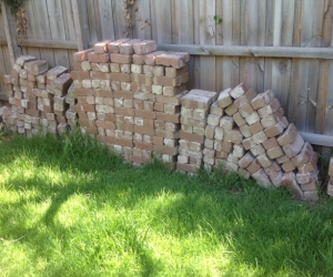 Used Clifton solid Clay house bricks