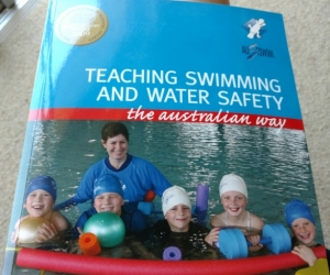 Textbook for Austswim (Teaching swimming and water safety)