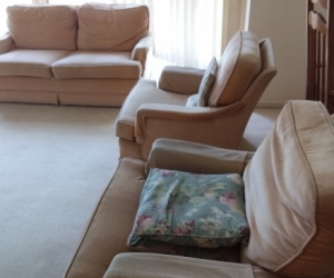 Lounge suite small 3 piece