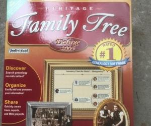 Family Tree Windows Software: unused