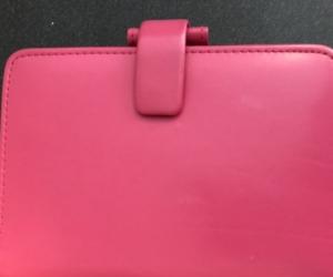 Pink Filofax - vinyl