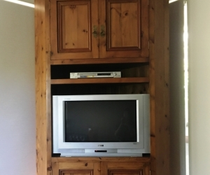 Recycled Baltic pine TV Entertainment unit