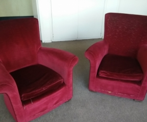 Vintage lounge and chairs, free for pickup (Bondi)