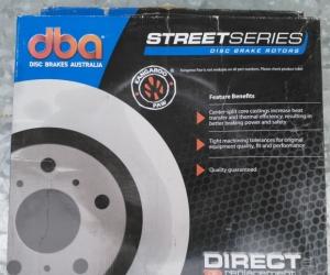 Disc Brake Rotors (Pair) DBA 2308 - Front