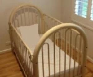 Old cot & mattress