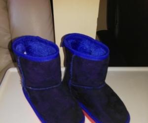 Childs size 9 boot slipper