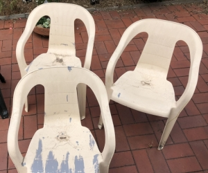 x5 plastic outdoor chairs