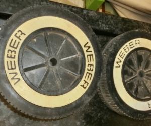 Weber BBQ wheels