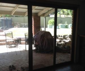 Sliding glass door and windows
