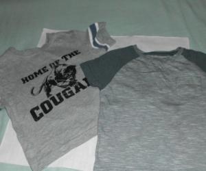 grey t/shirts