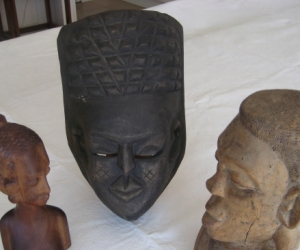 African wooden carvings