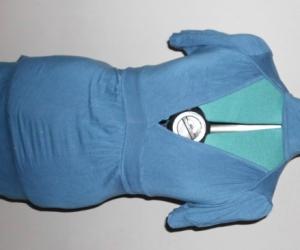 womens blue top