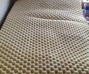 2 Single Bed egg carton mattress toppers