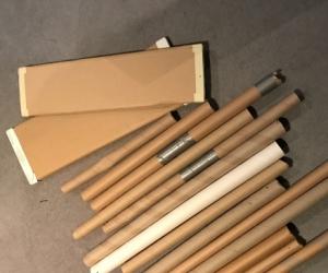 Free cardboard rolls
