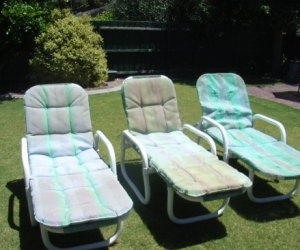 Set of 3 loungers
