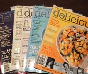 Magazines (cooking, lifestyle)