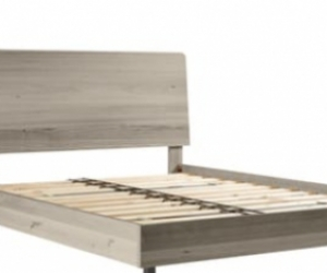 Wooden queen size bed frame