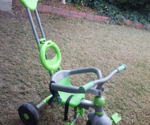 Toddler convertible trike