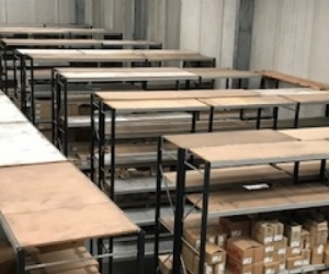 62 Bays of Stormore Shelving