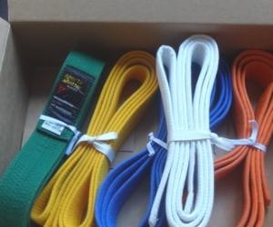 Taekwondo belts. Pick up Blackburn