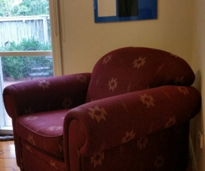 Lounge Suite 3 seater sofa, 2X armchairs