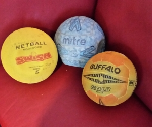 3 Netballs