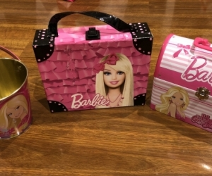 Barbie containers