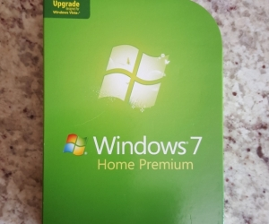 Windows 7 upgrade from Windows Vista.